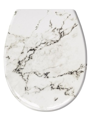 Toiletbril Marble antraciet